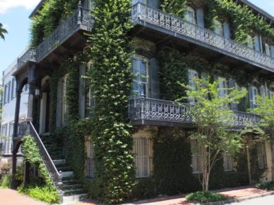 Haunted Houses are known for mysterious happenings in Savannah.