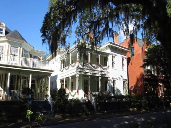 Restored antebellum mansions. Old oaks draped with Spanish moss. Cobbled roadways. Camellias flowering in January. Azaleas in March. Hydrangeas in May. Savannah is a city of immense beauty.