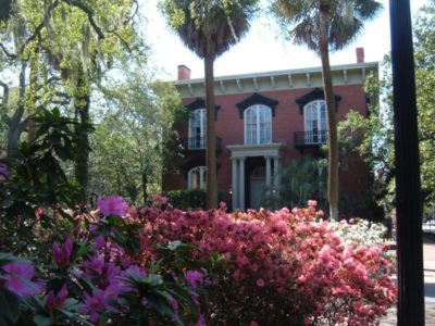 Old world grace and Southern hospitality meet in Savannah. Alan Chaput's Savannah book settings are lavish and chocked full of Southern grace.