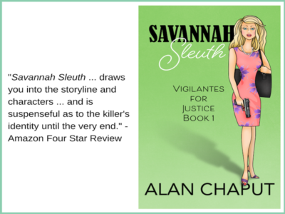 Savannah Sleuth Amazon 4 star review