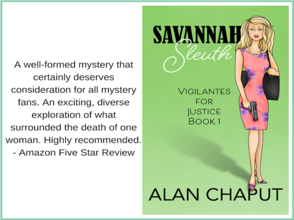 Savannah Sleuth Amazon five star review