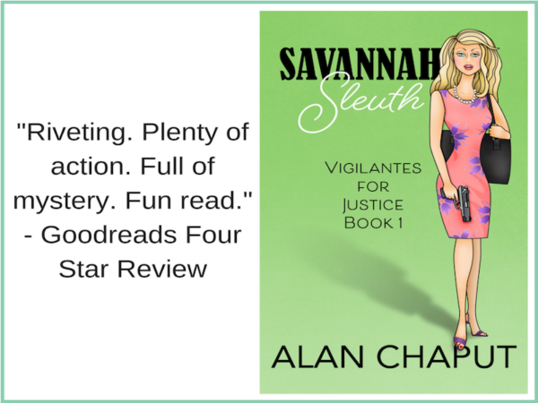 Savannah Sleuth Goodreads four star review