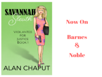 Savannah Sleuth Novel now on Barnes and Noble